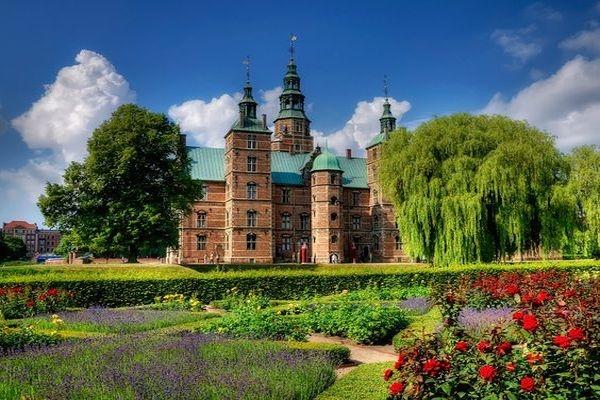 портрет датский замок розенборг слушал тишину